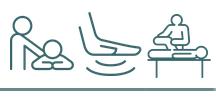 set of 3 massage icons