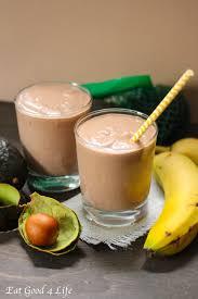 chocolate avocado milkshakes