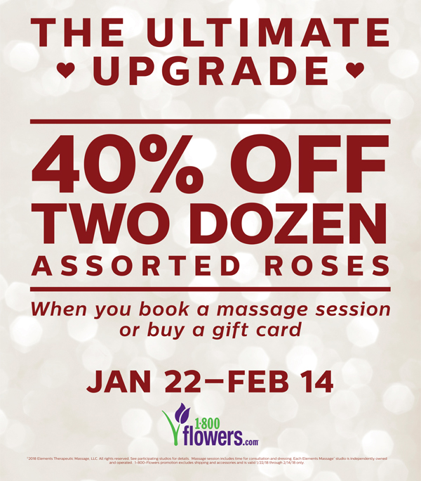 Massage & Flowers ~ The Perfect Pair