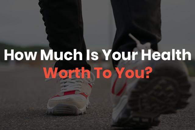sneakers walking on pavement