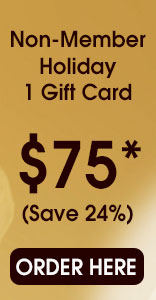 christmas, massage, gift cards