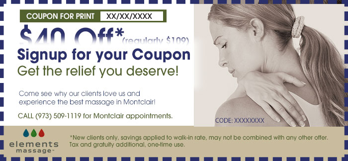 montclair massage coupon