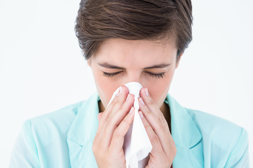 springtime allergies relief natural remedy massage therapy sneezing coughing sick