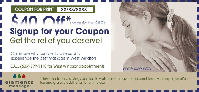 west windsor massage coupon
